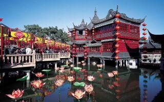 Сад Радости в Шанхае – Юй Юань (Yuyuan Garden)