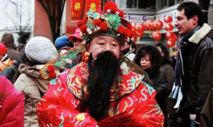 Китайский Дед Мороз