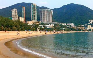 Пляжи Гонконга