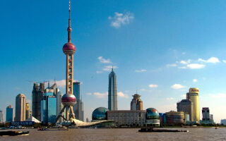 Шанхайская телебашня – Восточная жемчужина