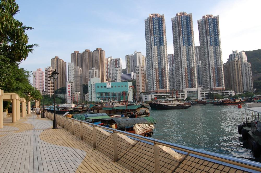 Достопримечательности Гонконга: променад Абердин