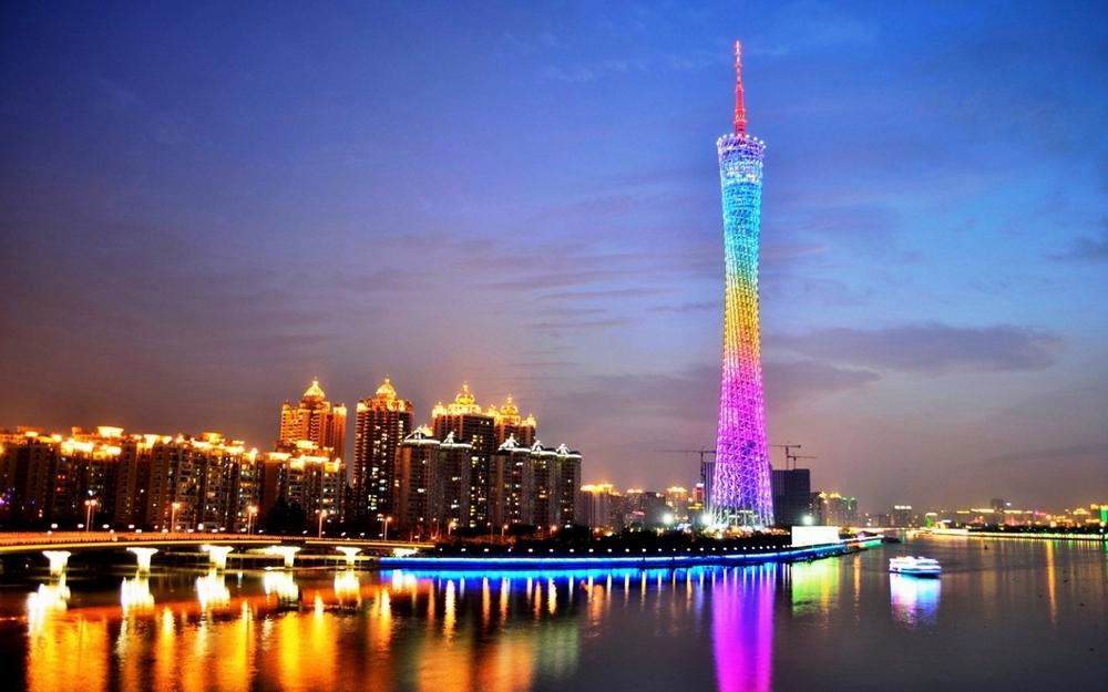 Что посмотреть в Гуанчжоу за 1 день: Телебашня Canton Tower