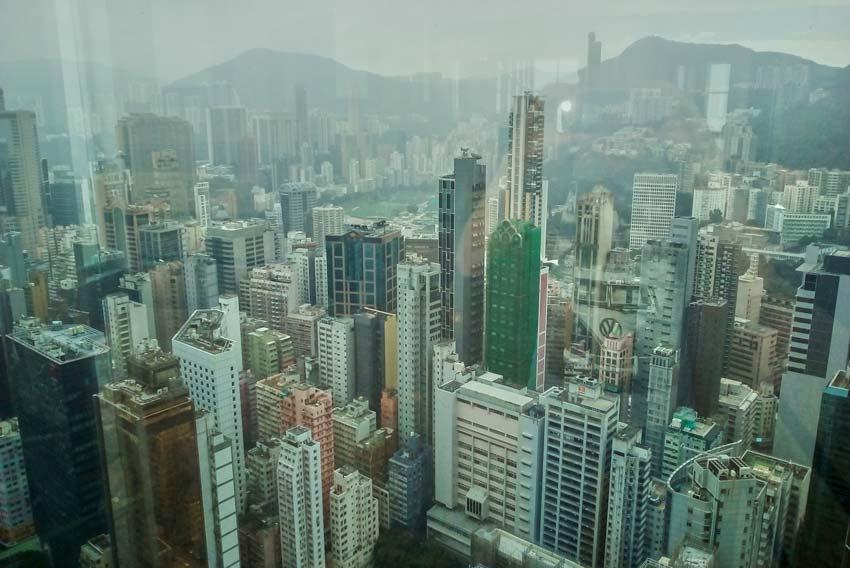 Достопримечательности Гонконга: Обзорная площадка Central plaza