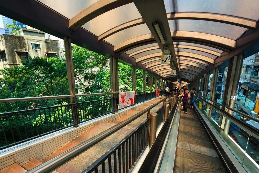 Достопримечательности Гонконга: самый длинный в мире эскалатор