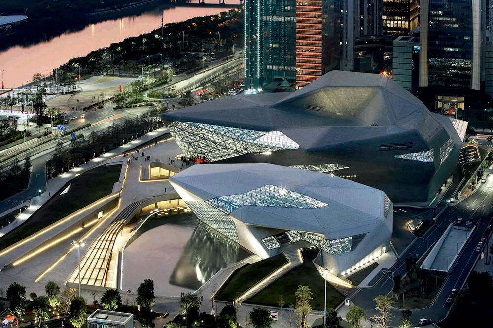 Достопримечательности Гуанчжоу: здание Оперного театра
