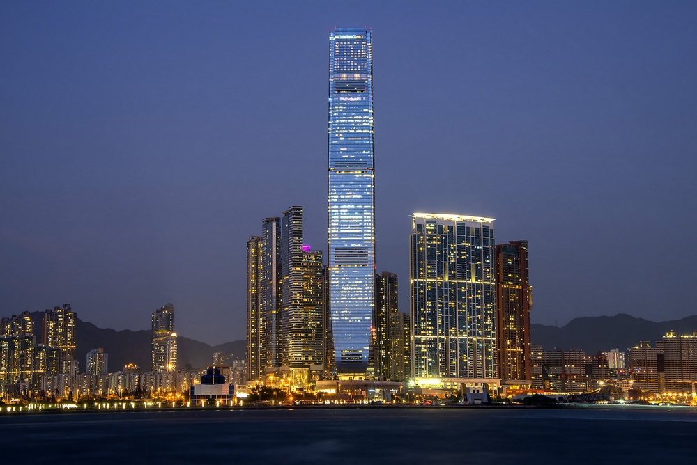 Достопримечательности Гонконга: Международный Торговый Центр Гонконга