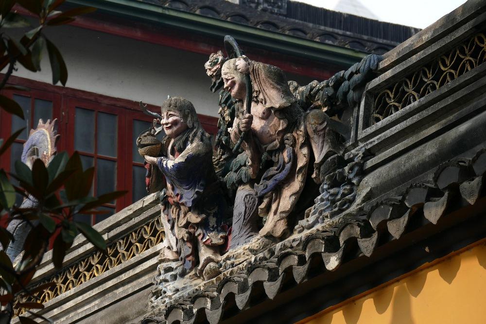 Что посмотреть в Шанхае: храм Нефритового Будды