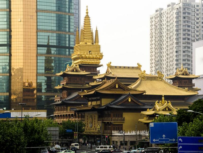 Что посмотреть в Шанхае: Храм Цзинань, Шанхай