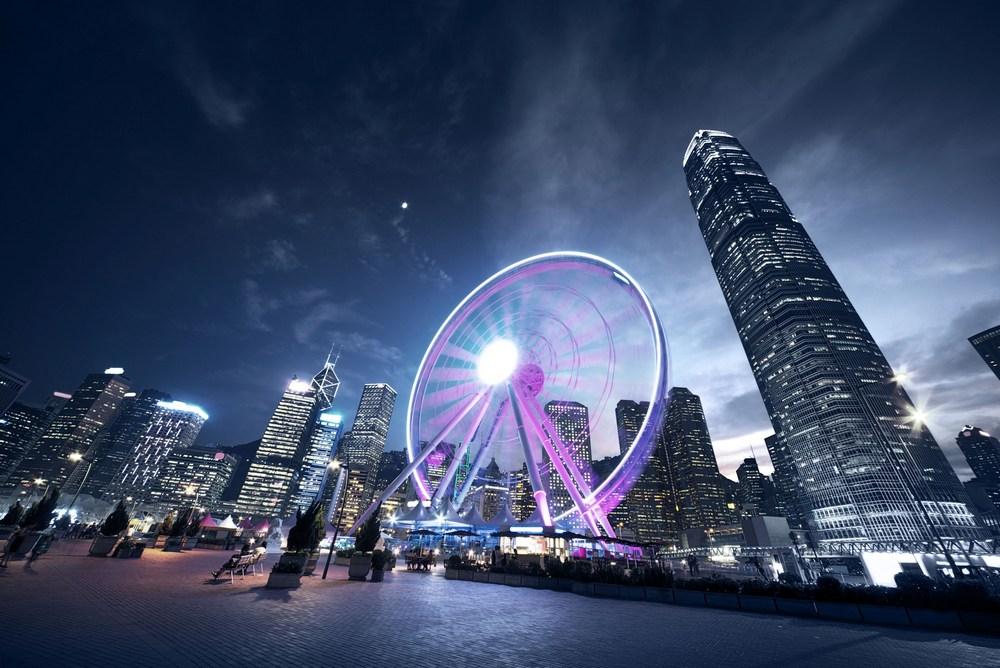 Достопримечательности Гонконга: колесо обозрения