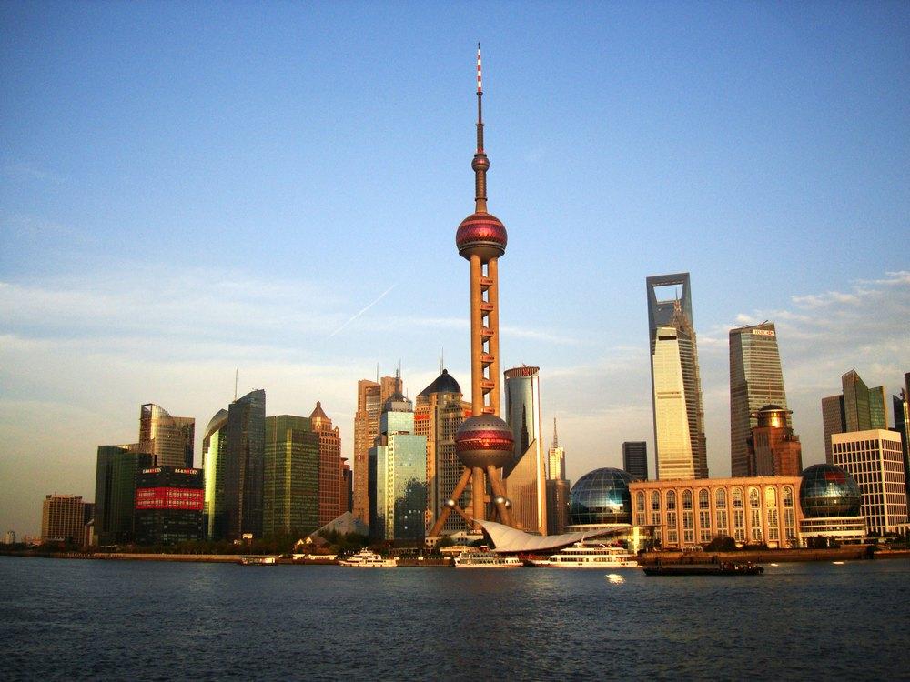 """Что посмотреть в Шанхае: телебашня """"Восточная жемчужина"""""""