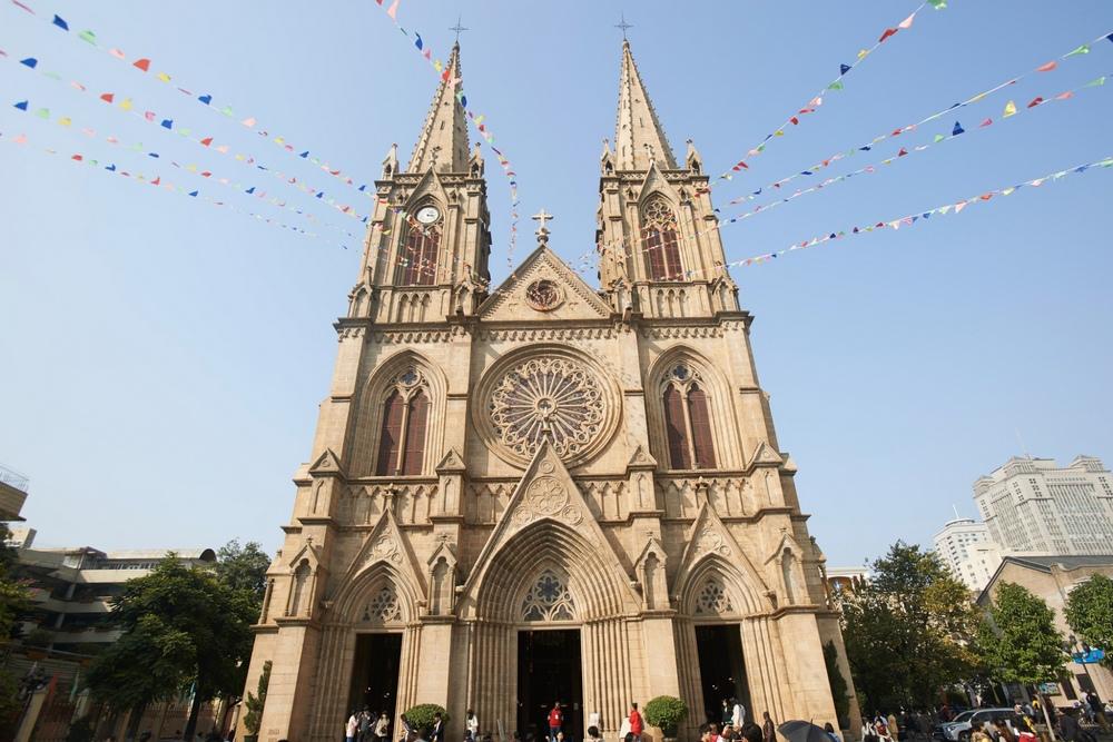 Достопримечательности Гуанчжоу: Собор Святого Сердца