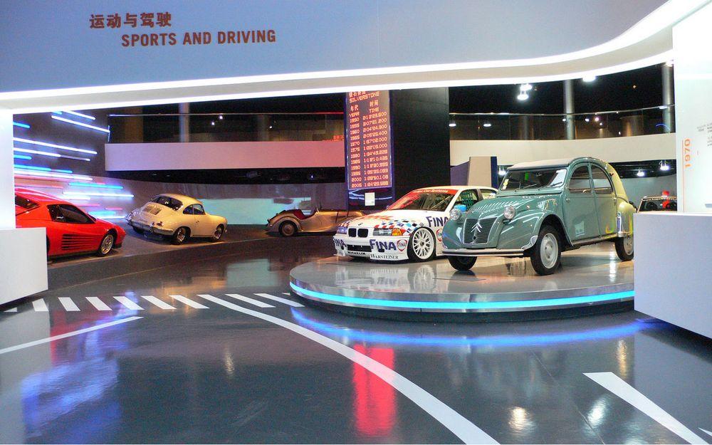 Достопримечательности Шанхая: музей автомобилей