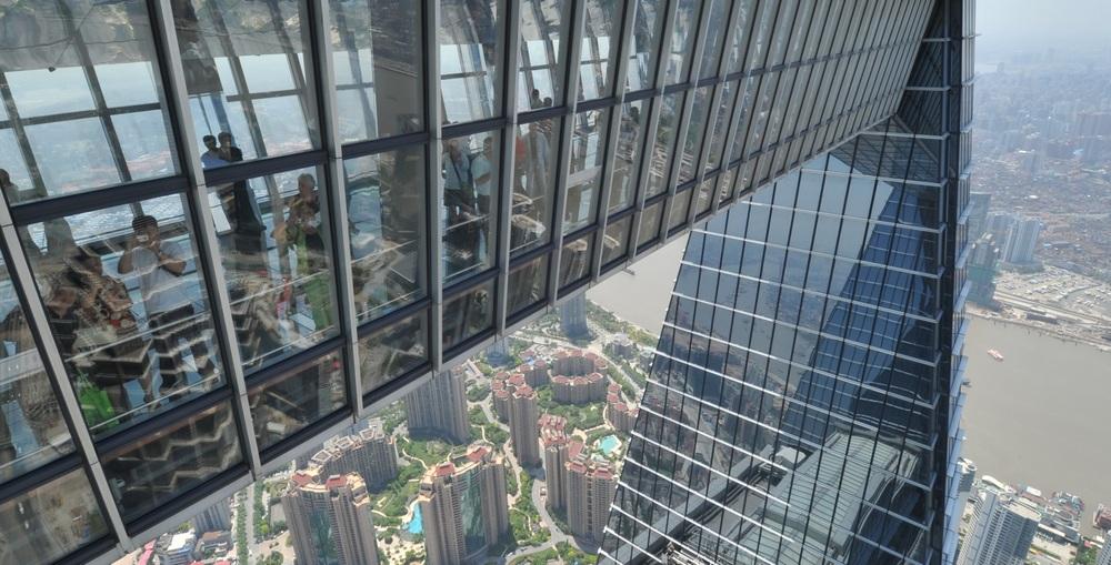 Что посмотреть в Шанхае: Шанхайский Всемирный финансовый центр