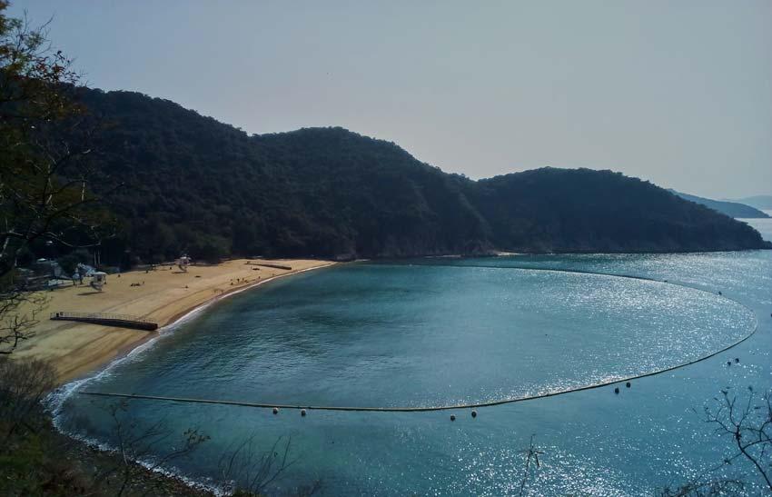 Достопримечательности Гонконга: пляж South Bay