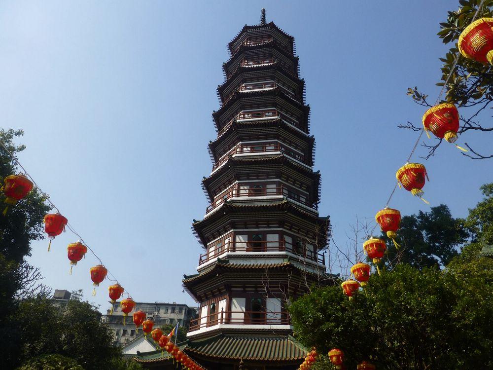 Достопримечательности Гуанчжоу: Храм шести баньяновых деревьев