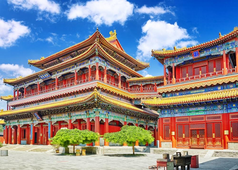 Достопримечательности Пекина: храм Юнхэгун