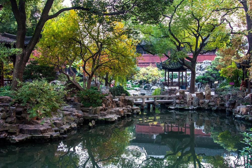 Достопримечательности Шанхая: сад Юй Юань