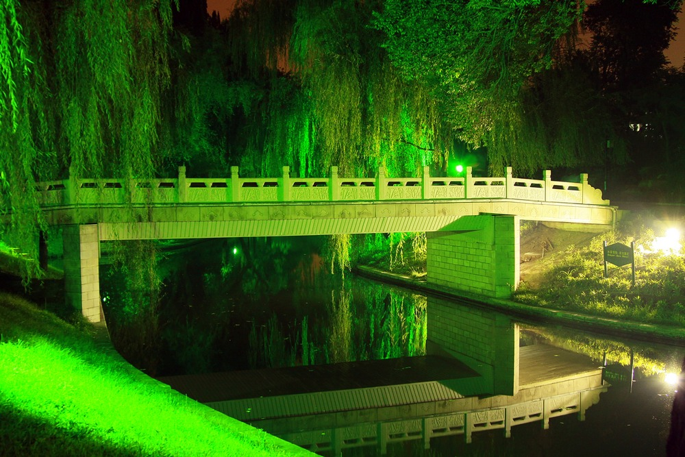 Достопримечательности Пекина: парк пурпурного бамбука