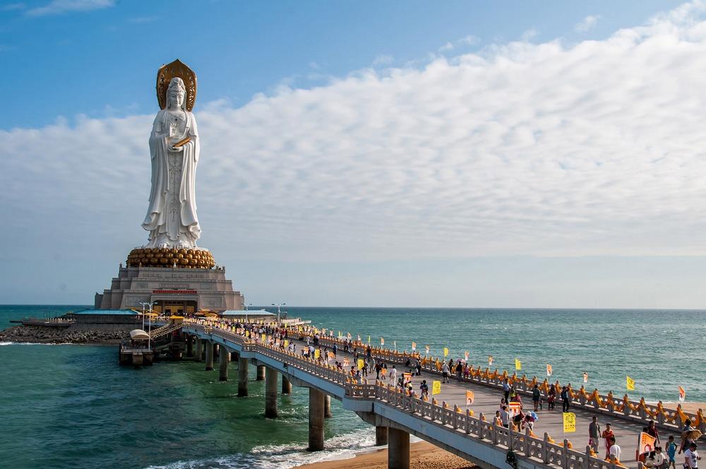 Достопримечательности Хайнань: Центр буддизма Наньшань