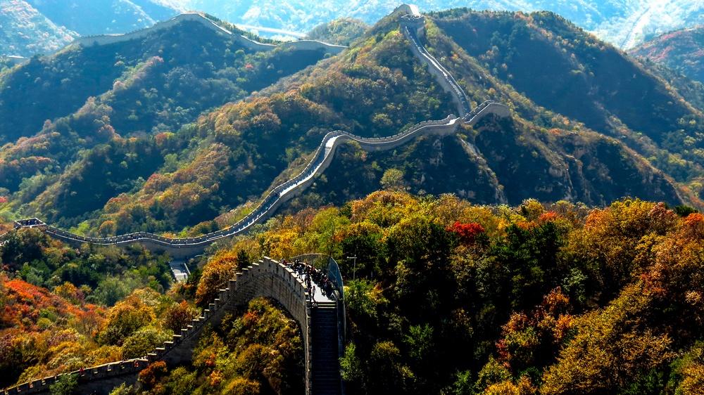 Достопримечательности Пекина: Великая Китайская стена, участок Бадалин