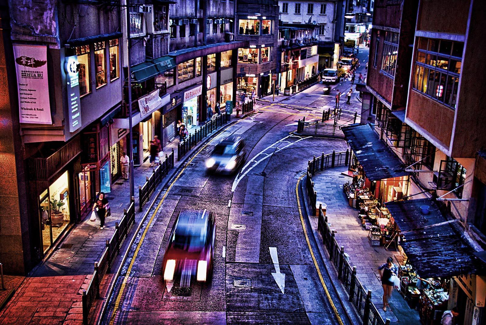 Достопримечательности Гонконга: Hollywood road