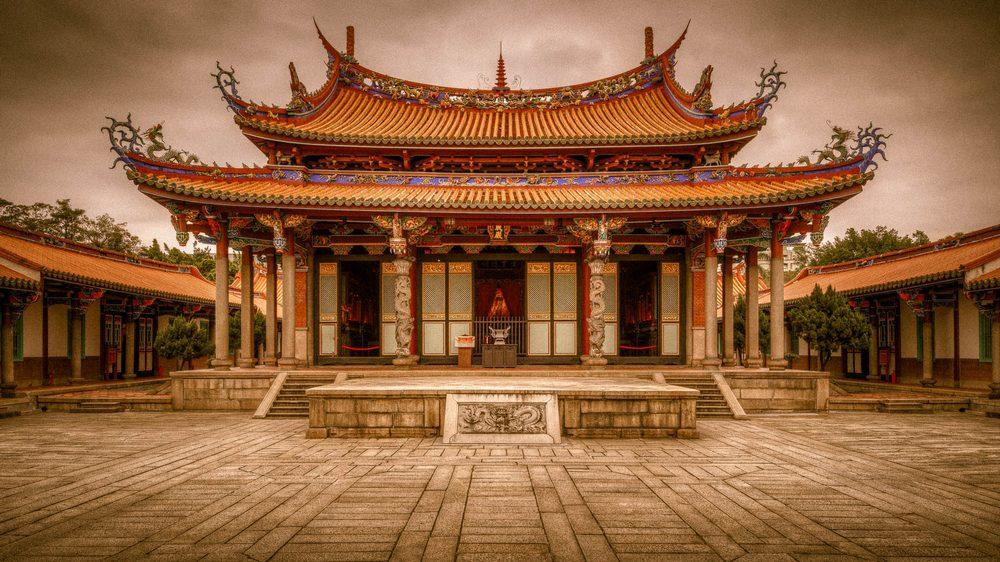 Достопримечательности Пекина: храм Конфуция