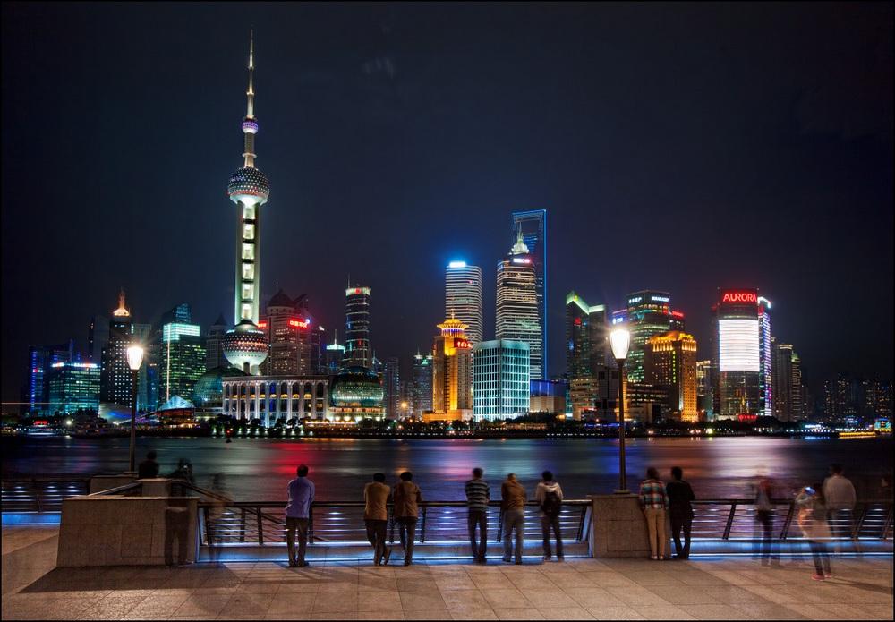 Что посмотреть в Шанхае: набережная Вайтань