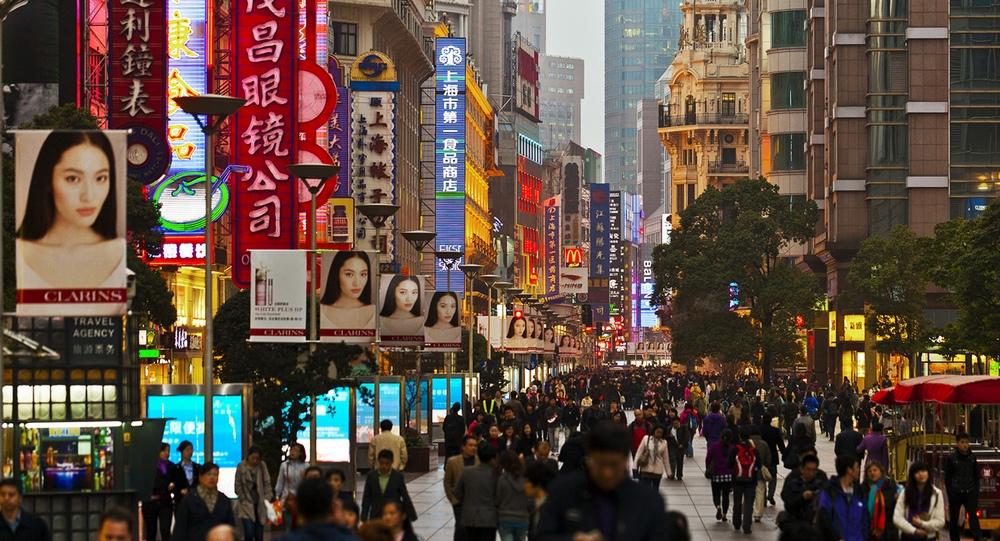 Что посмотреть в Шанхае: пешеходная улица Нанкин
