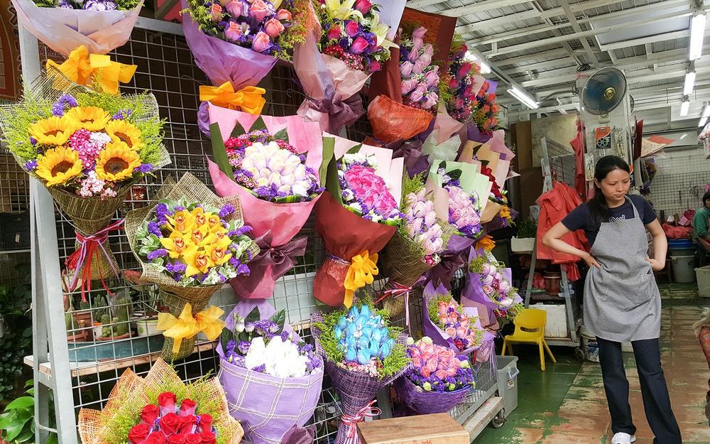 Достопримечательности Гонконга: цветочный рынок