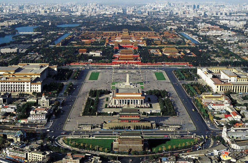 Достопримечательности Пекина: площадь Тяньаньмэнь