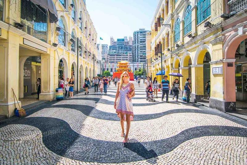 Достопримечательности Макао: площадь Сенадо