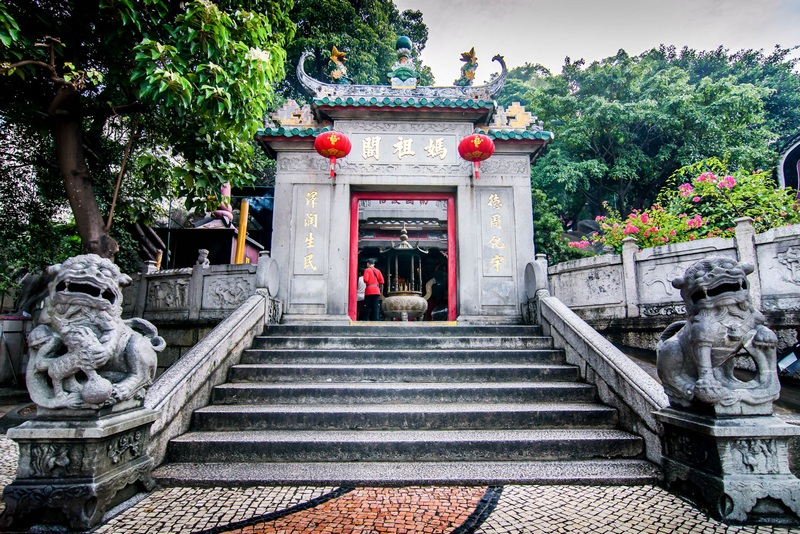 Достопримечательности Макао: Храм A-Ma