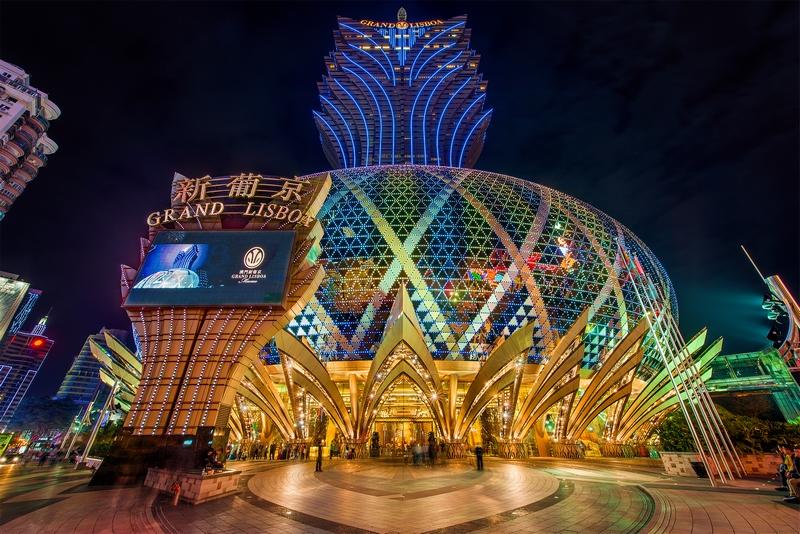 Достопримечательности Макао: казино Grand Lisboa
