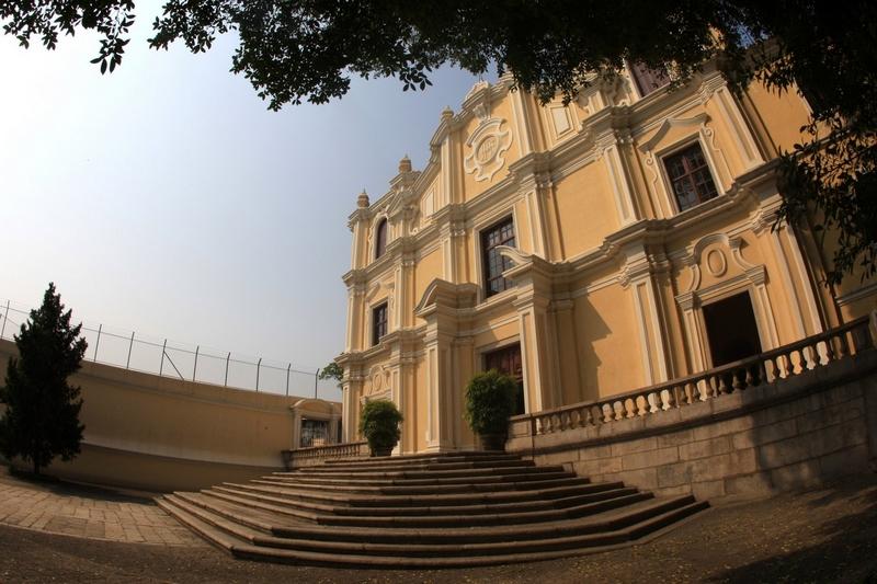 Достопримечательности Макао: церковь святого Иосифа