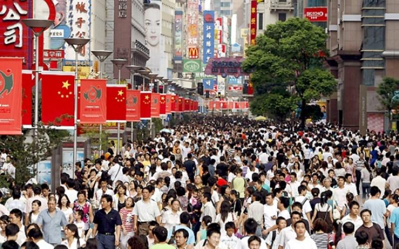 Какое население китая