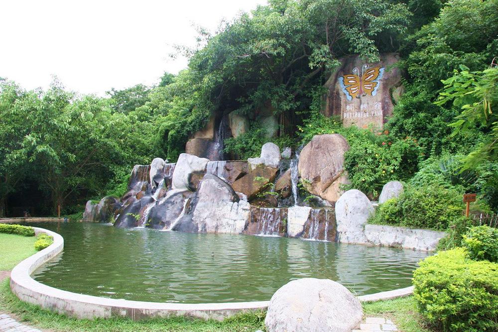 Ущелье Бабочек на Хайнань, Ялонг Бей, Санья