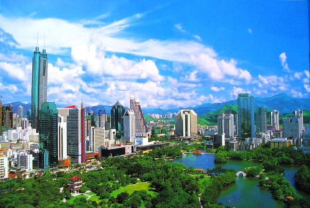 Город Шэньчжэнь, Китай