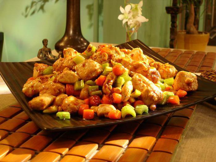 Цыпленок гунбао (гунбао цзидин)