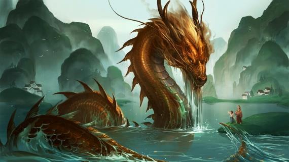 Водяной дракон (водный)