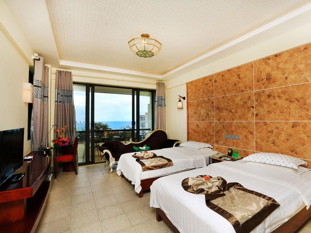 Двухместный номер делюкс, отель Palm Beach Resort & Spa 5*
