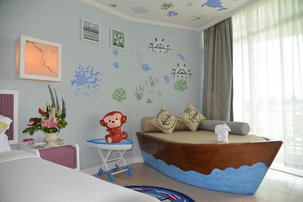 Семейный номер в отеле Sunshine Resort Intime Sanya 5*