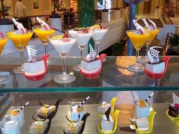 Примерный ужин в отеле Sunshine Resort Intime Sanya 5*, Дадунхай