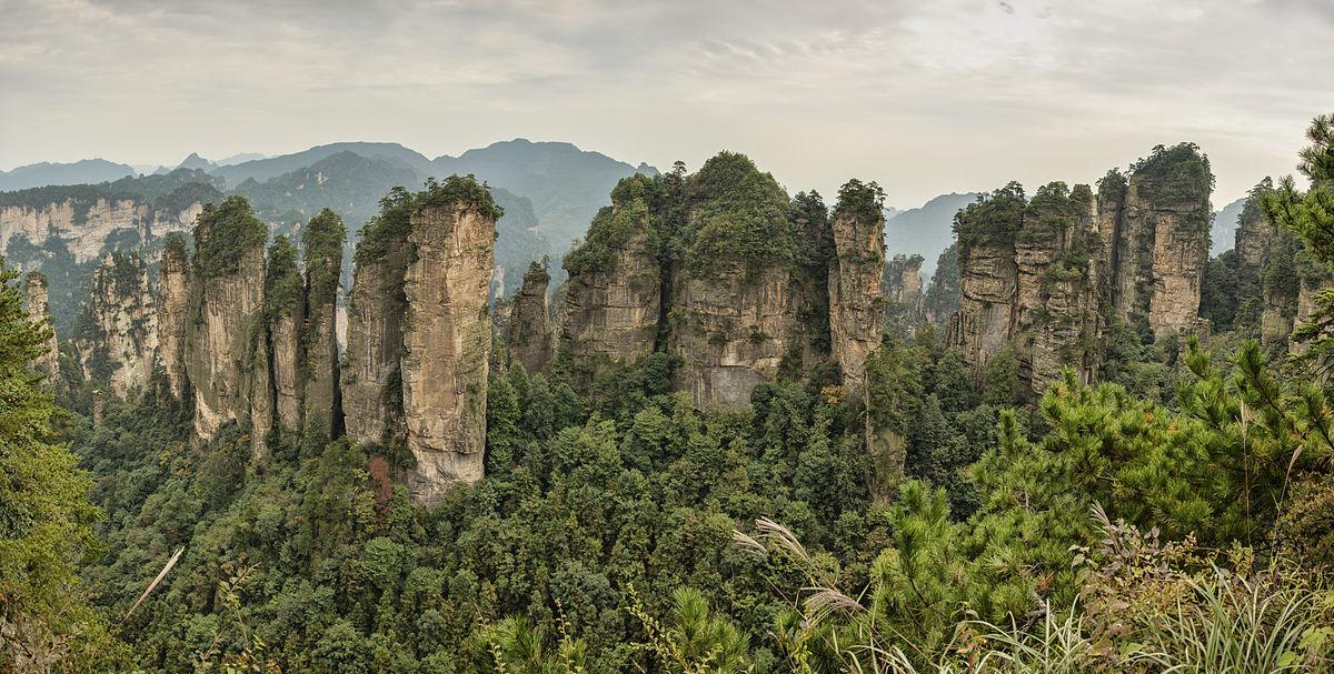 Национальный парк Чжанцзяцзе и горы Аватара в Китае