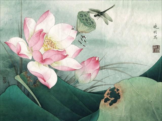 Картины в традиционном стиле
