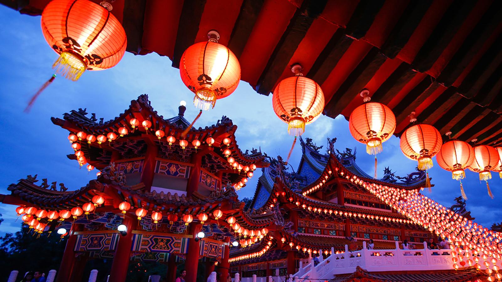 Китай в январе