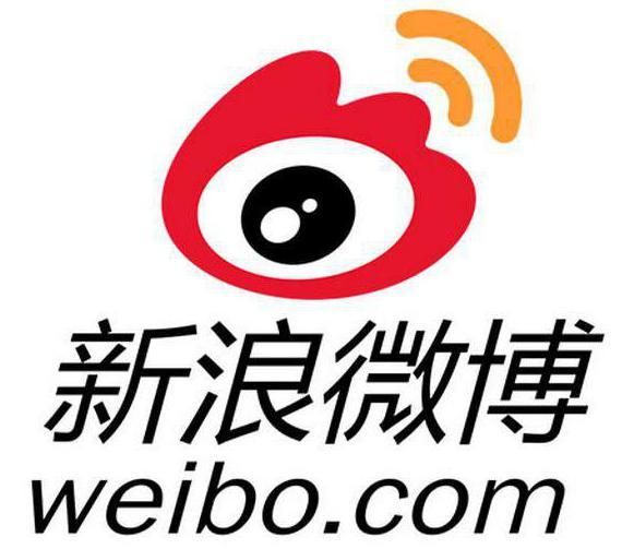Китайская социальная сеть Weibo