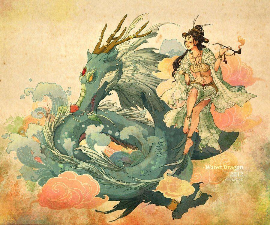 Особенности китайской мифологии Государство, зародившееся во 2 тысячелетии до нашей эры и развивавшееся самобытно, стало одним из развитых государств мира. Многовековая история жизни народов и становления цивилизации нашла свое отражение в преданиях и легендах о мифических существах и богах, которые решали судьбу человека соответственно его действиям. Особенностями китайской мифологии является смешение реальных личностей и выдуманных мифических героев, неразрывная связь верований с образом жизни. Все мифические персонажи наделяются качествами присущими обычным людям. В каждом феномене наблюдается божественное вмешательство. Посредством мифов люди передают свое отношение к происходящим вокруг них непонятным вещам и событиям. До сих пор свято чтут и поклоняются богам и мифическим существам, в честь которых проводят праздники и карнавалы – феерические шоу, привлекающие людей со всего мира. Мифы Китая Зарождение мифов связано с попытками понять и объяснить происхождение всего живого на земле. Первые мифы китайцев связаны со сказаний и появление Вселенной из Хаоса. Началом мира они считают момент, когда хаос разделился на две части – водную и земную. Великий бог Паньгу – бог, который создал четыре стихии и стал прародителем всего живого на Земле. Считалось, что ветер и дождь появились из его вздохов, а гроза и молния из выдоха. Свет во всем мире исходил из сияния его глаз и когда он засыпал, а тьма появлялась, когда он закрывал глаза, чтобы поспать. После его смерти его конечности и голова стали пятью горными хребтами, из волос проросли деревья и трава и люди произошли от паразитов, которые населяли его тело. Китайские мифические существа Культура коренных жителей Китая отличается обязательным присутствием духов и мифических существ в их жизни. В древнее время люди верили в то, что мир состоит только из гор и рек, а все остальное на земле не имеет никакого значения. Они считали, что в горах живут горные духи – уродливые грозные существа с ущербным строением тела. Самый г