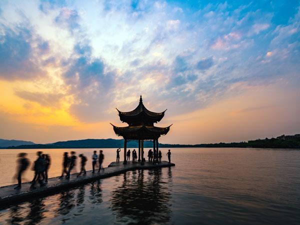 """Озеро """"Юаньдан"""""""
