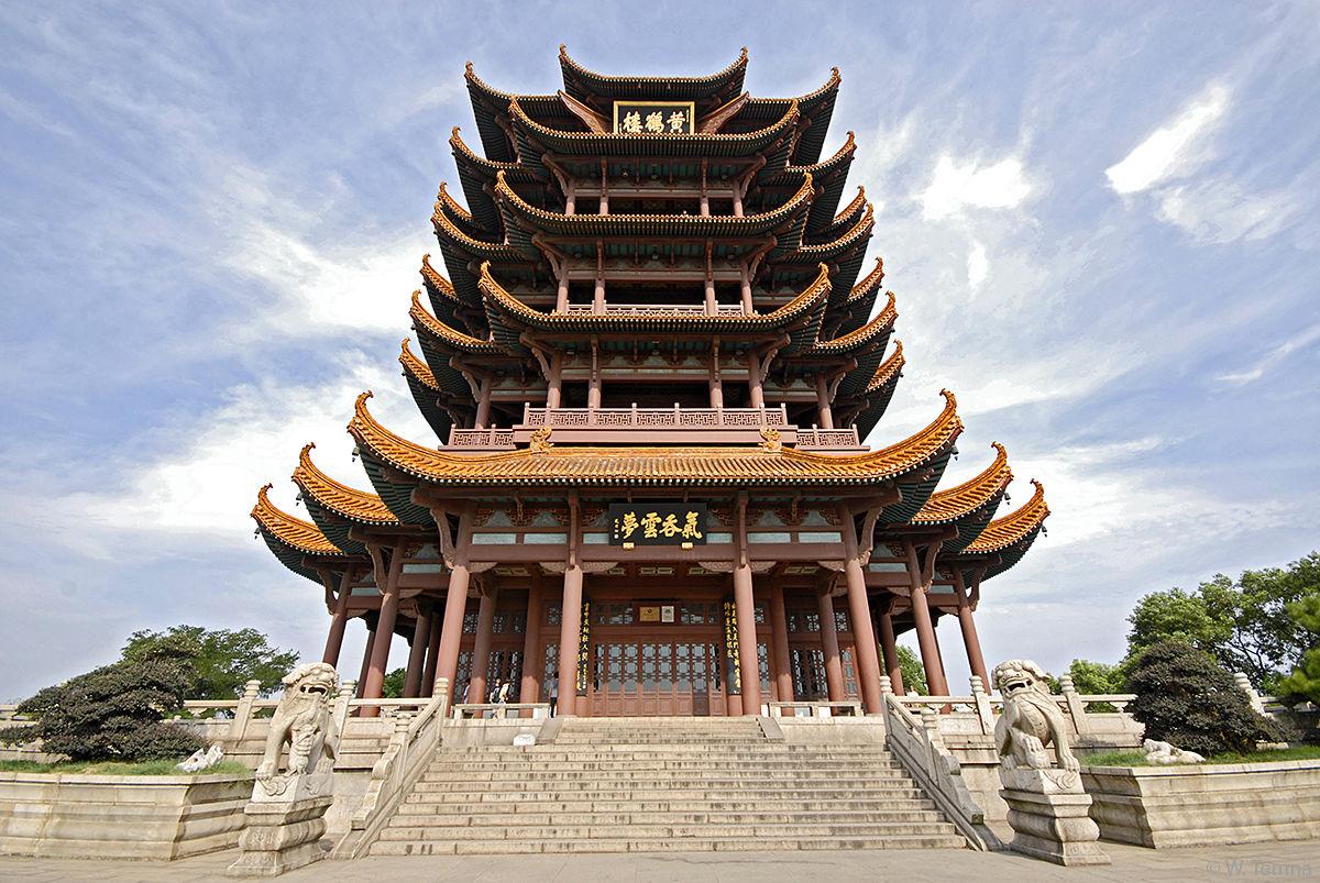Пагоды в Китае
