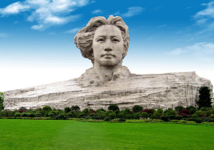 Памятник Мао Цзэдуну